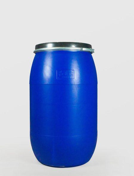 Бидон 220 л. пластмасов Sterk със скоба и обръч